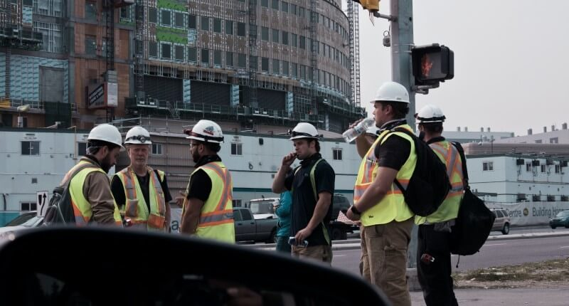 construction workkers